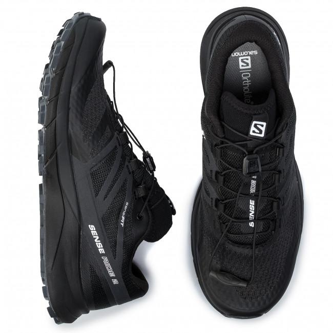 408033 Sense 27 Salomon Sportive Ride ebony Black Scarpe 2 Trail Uomo V0 Running phantom KFT3l1Jc