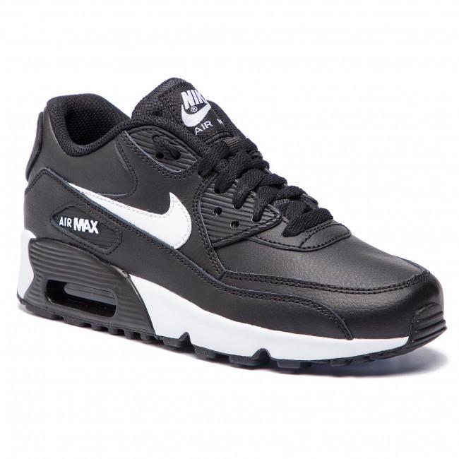 7f2cb4b2d313 Scarpe NIKE - Air Max 90 Ltr 90 (GS) 833412 025 Black/Whit/Antracite -  Sneakers - Scarpe basse - Donna - escarpe.it