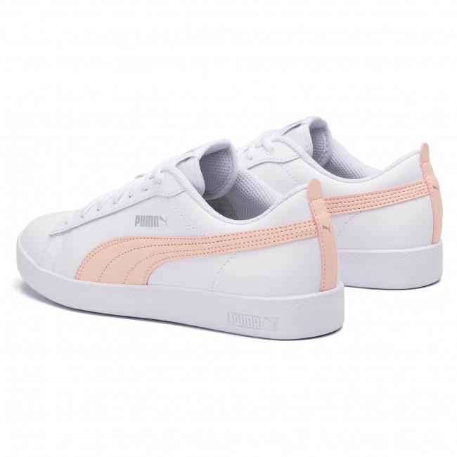 Sneakers PUMA Smash Wns V2 L 365208 14 WhitePeach ParfaitSilver