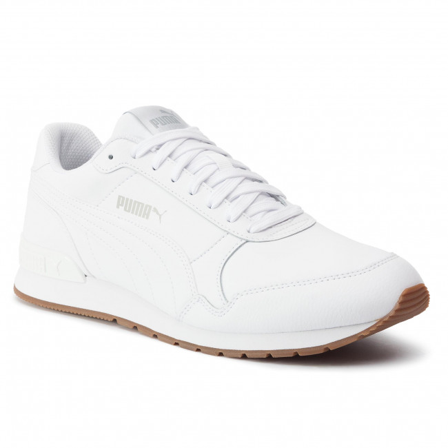 0006f92b171075 Sneakers PUMA - St Runner V2 Full L 365277 09 Puma White/Gray Violet -  Sneakers - Scarpe basse - Uomo - escarpe.it