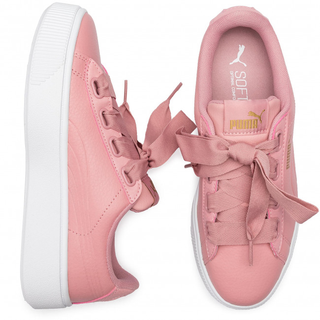 Puma Vikky bridal 05 Rose Basse Ribb 369112 Core Donna Sneakers Bridal Rose Scarpe Stacked Y6gbf7y