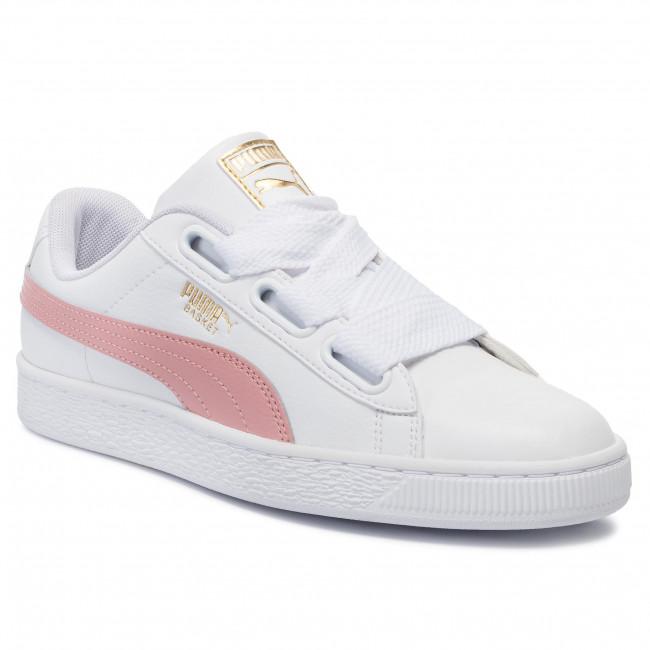 Sneakers PUMA - Basket Heart Reinvent Wn\'s 369935 01 Puma White/Bridal Rose - Sneakers - Scarpe basse - Donna