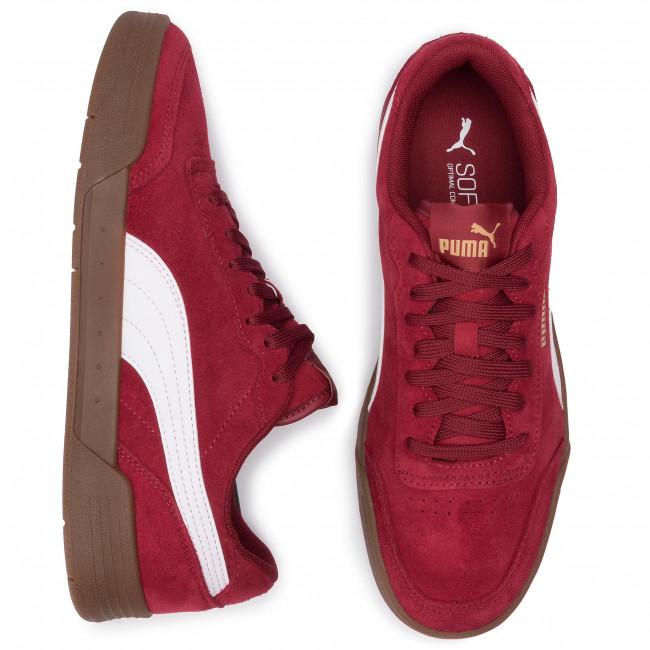 Sneakers 02 p team p Basse Sd Puma Caracal Scarpe Gold Uomo Rhubarb white 370304 53LARjq4