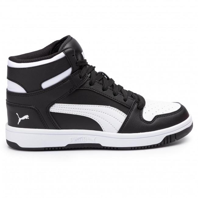 Rebound Jr Polacchi Stivali Altri Sl Black 370486 White puma E Puma Sneakers Layup 01 Bambino b7fY6gy