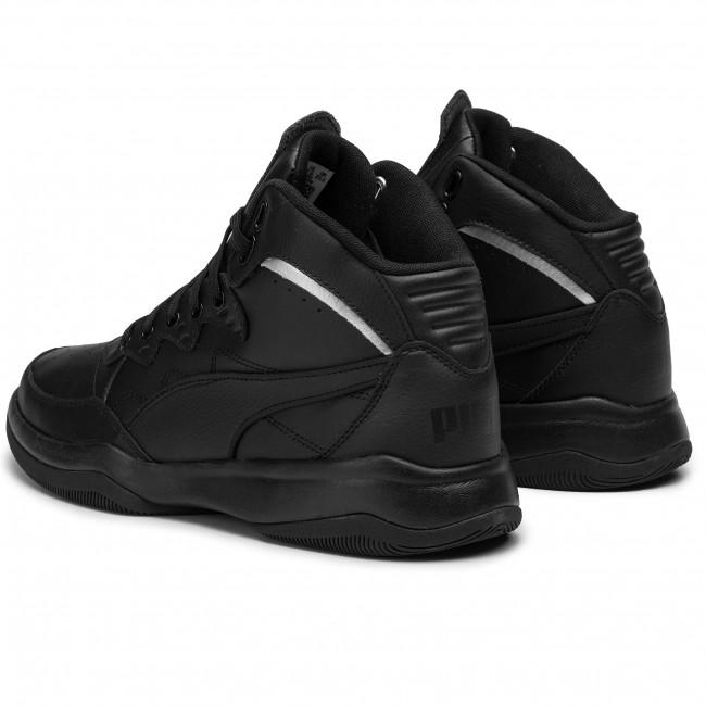 Sneakers PUMA - Rb Playoff L 370546 02 Puma Black/Puma Silver - Sneakers - Scarpe basse - Uomo