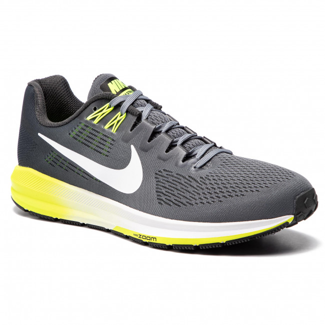 Scarpe NIKE Air Zoom Structure 21 904695 007 Cool Grey WhiteAnthracite