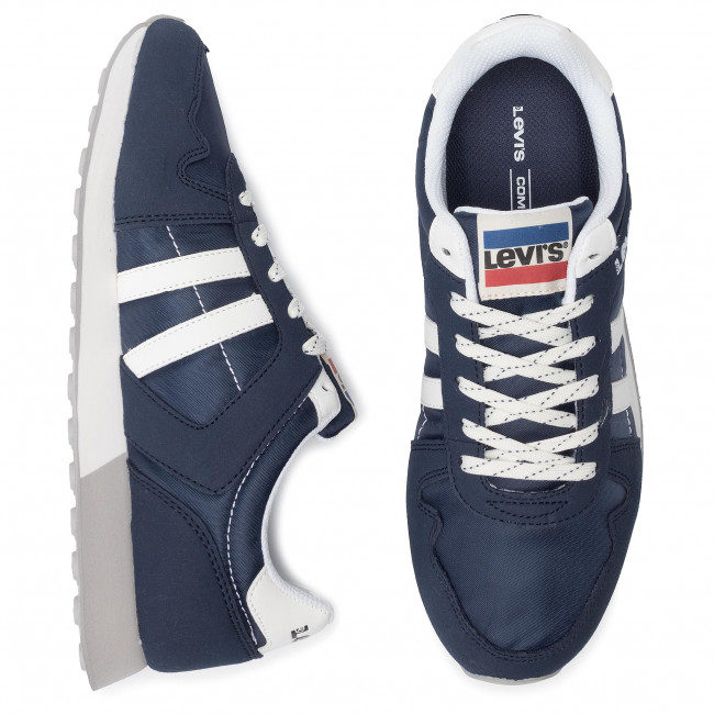 Basse Scarpe Navy Sneakers Levi's 17 725 Uomo Blue 229802 HYDIEW29
