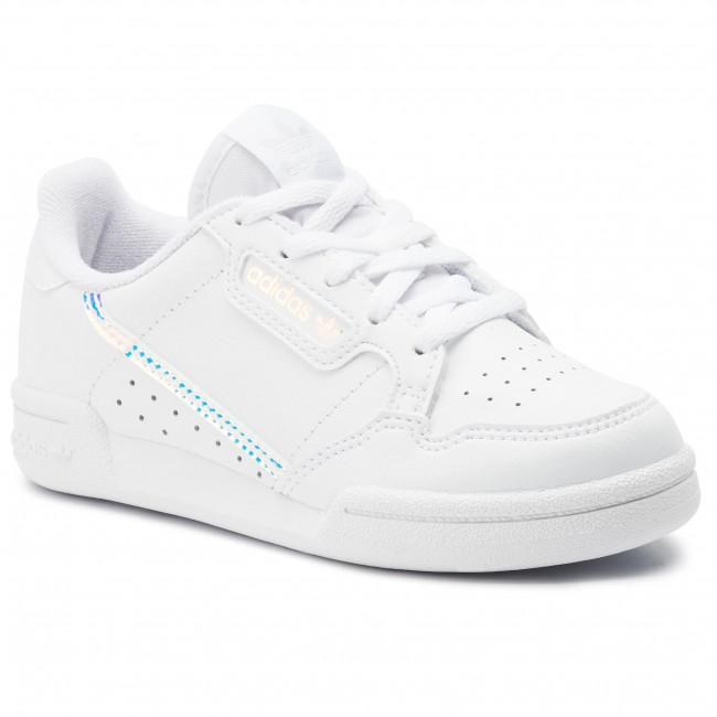 Basse Continental Ee6503 Ftwwht C cblack Bambina Scarpe 80 Stringate Adidas Bambino ftwwht f6ybgY7v