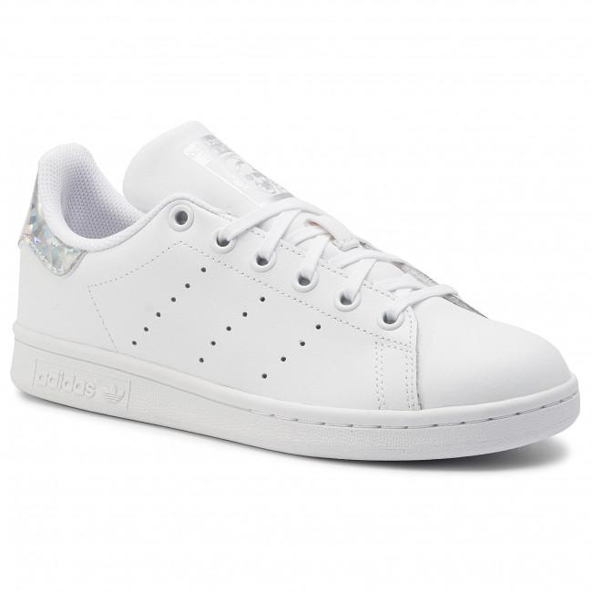 new product 3e509 b4c46 Scarpe adidas - Stan Smith J EE8483 Ftwwht/Ftwwht/Cblack