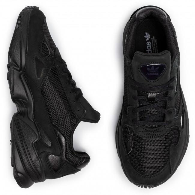 Scarpe adidas - Falcon W G26880 Cblack/Cblack/Grefiv - Sneakers - Scarpe basse - Donna