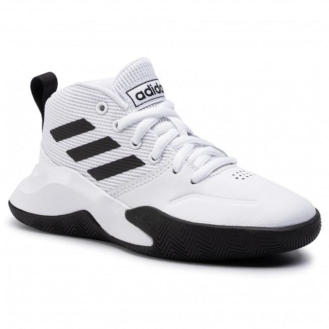 Scarpe adidas Ownthegame K Wide EF0310 FtwwhtCblackFtwwht