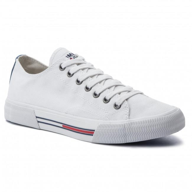 the best attitude a97ba 64141 Scarpe sportive TOMMY JEANS - Classic Tommy Jeans Sneaker EM0EM00290 White  100