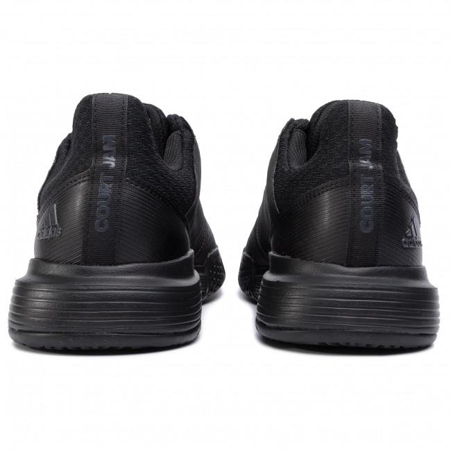 M Adidas Scarpe Ee4319 Cblack Courtjam cblack Sportive carbon Bounce Uomo Tennis K1cuFTlJ3