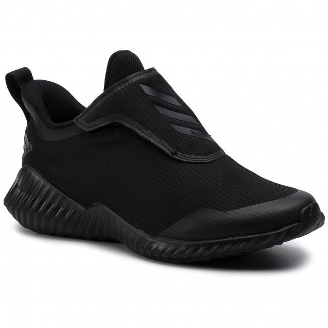 Scarpe adidas - FortaRun Ac K EF0145 Cblack/Cblack/Dgsogr