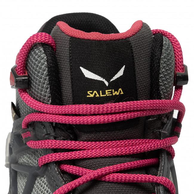 Scarpe da trekking SALEWA - Wild Hiker Mid Gtx GORE-TEX 61341-8623 Becks/Grisaille - Scarpe da trekking e scarponcini - Stivali e altri - Donna