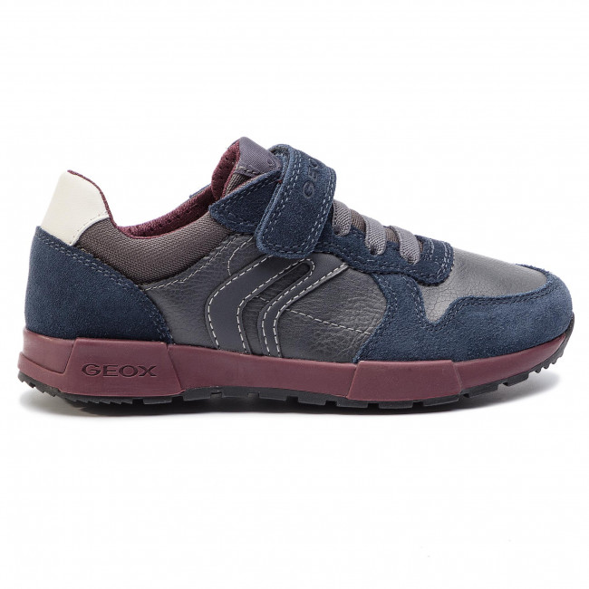 Sneakers GEOX J Alfier B. C J846NC 05422 C0739 S Dk GreyNavy