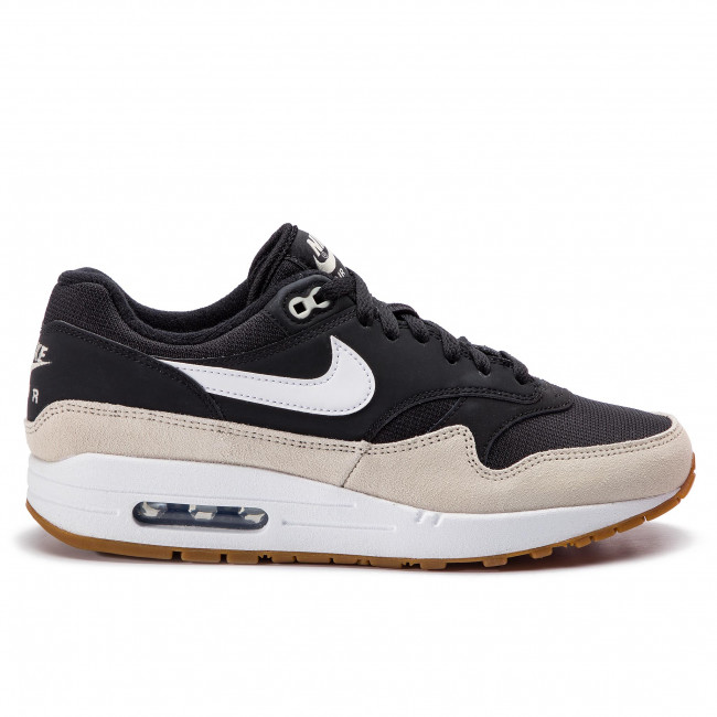 nike air max 1 light bone nero