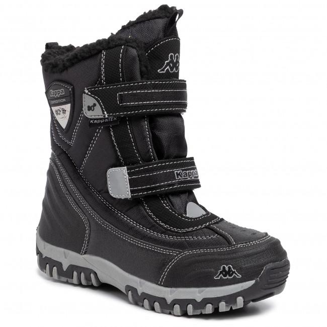 calzature ultima collezione prezzi incredibili Stivali da neve KAPPA - Bento Tex K 260639K Black/Silver 1115