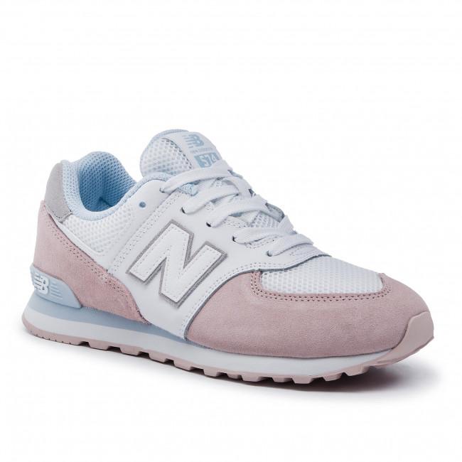 Sneakers NEW BALANCE GC574NSE Bianco Rosa