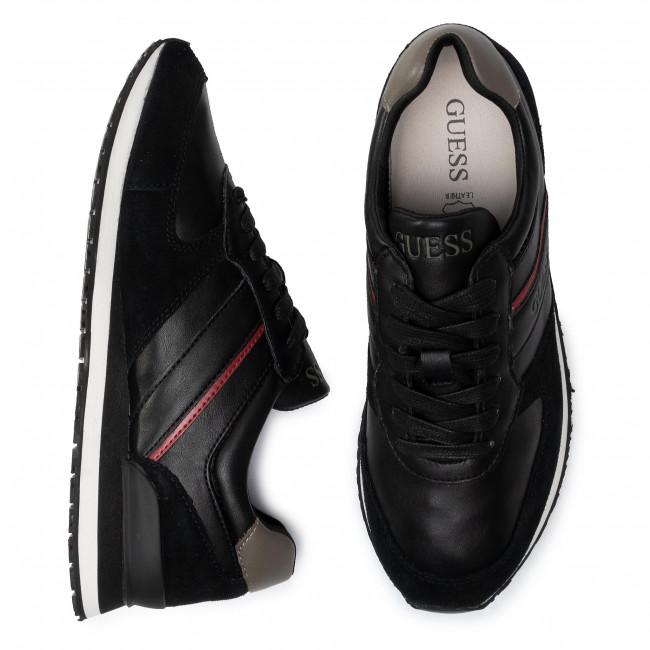 Sneakers Scarpe Fm8cha Charlie Black Uomo Basse Ele12 Guess SVGpqMUz