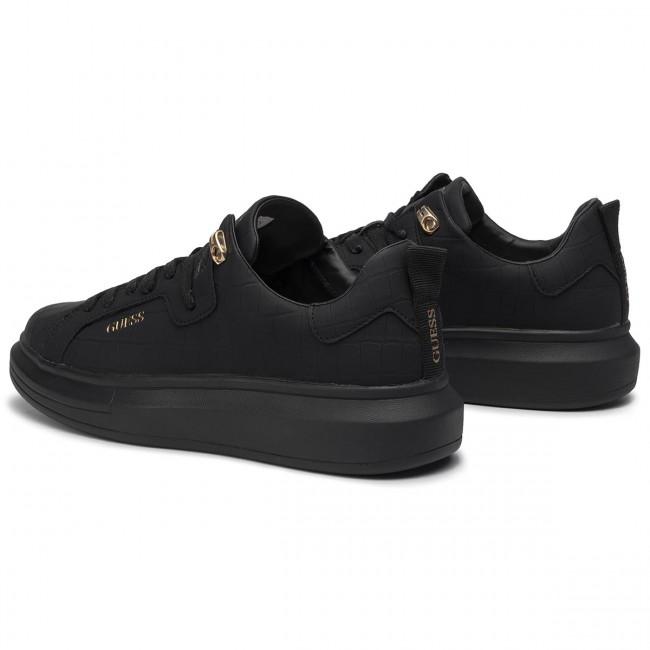 Basse Scarpe Sneakers Black Guess Uomo Fm8kur Pel12 c4q53LARjS