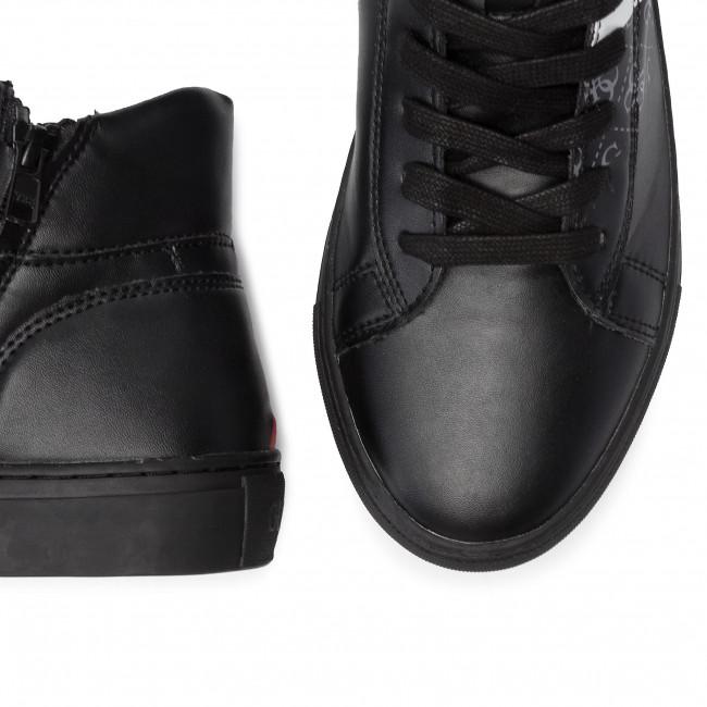 Scarpe Fal12 Fm8lrr Blkgr Basse Sneakers Larry Uomo Guess Log LSpzGqUVM