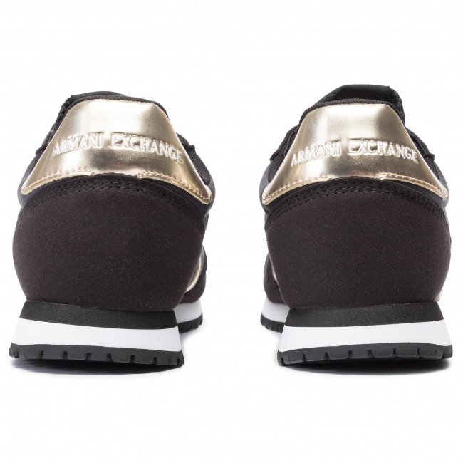 Basse N692 Xdx031 Armani Black Donna Exchange Xv137 Scarpe lt Sneakers Gold Im76vgYbfy