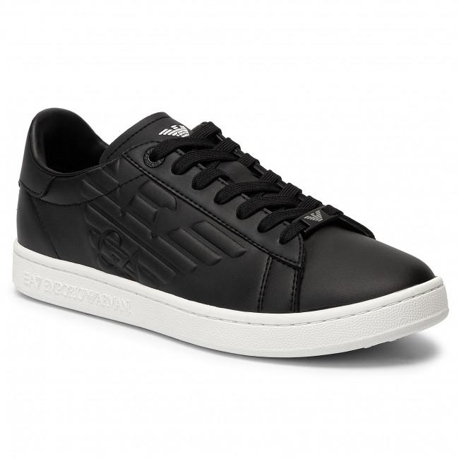 timeless design fd2f8 0d5b6 Sneakers EA7 EMPORIO ARMANI - X8X001 XK106 00002 Black/White