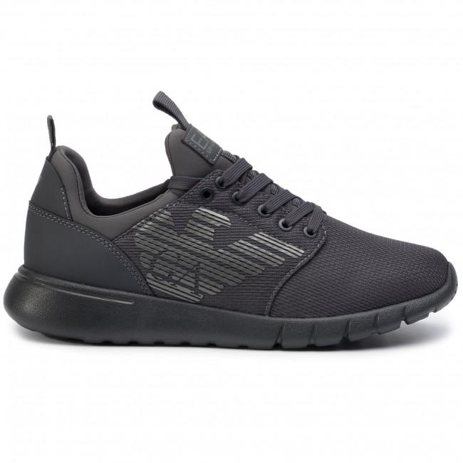 Asphalt Armani 00371 Uomo Scarpe Xcc02 Emporio Basse Sneakers Ea7 X8x007 CWrBdxoe