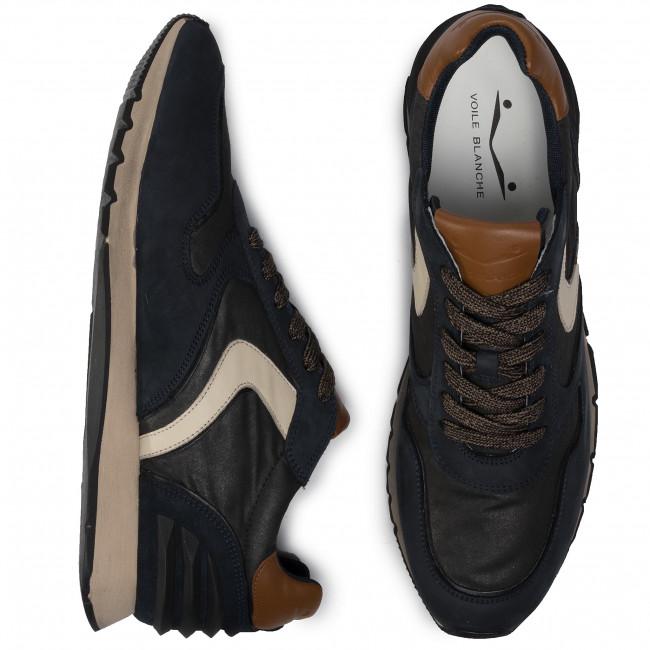 0012014143 Liam Sneakers Basse Uomo Race Voile beige 02 Nero Scarpe Fur 1a08 Blanche rdhstQ