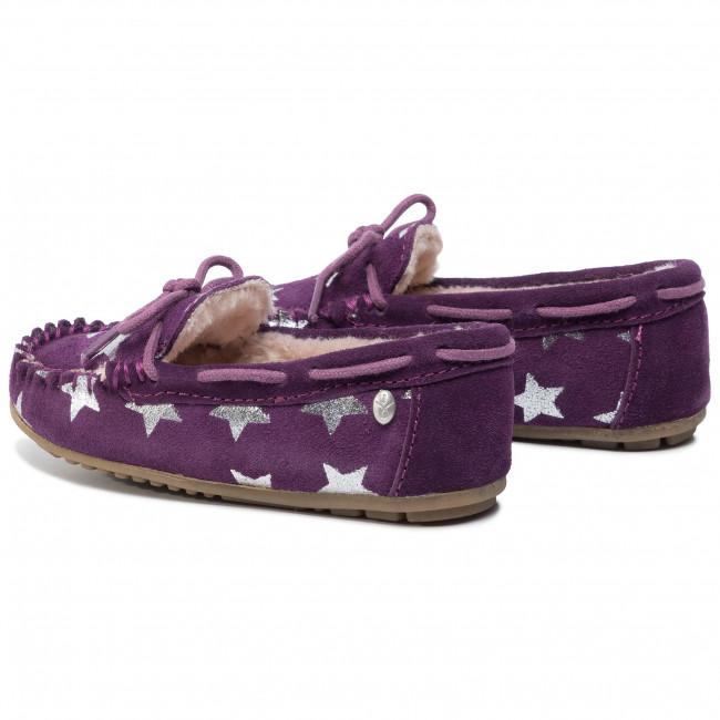 Kids E K11474 Emu Australia Sandali Ciabatte Amity Pantofole Star Plum Bambina Bambino Qrdtsh