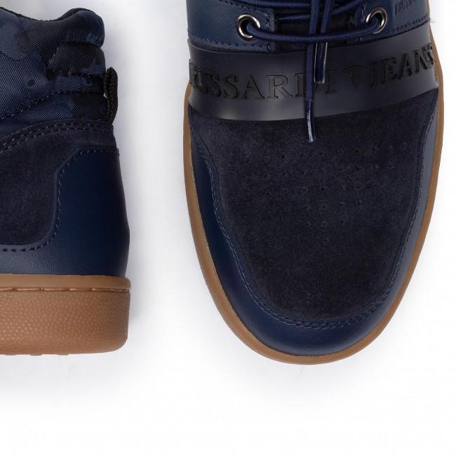 U706 Basse Trussardi 77a00099 Scarpe Uomo Jeans Sneakers 2DbHYE9eWI