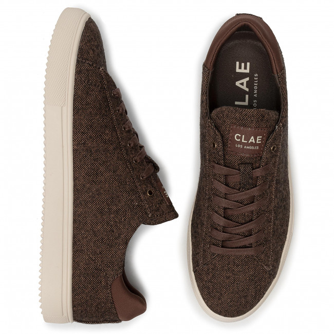 Clae Scarpe Bradley Cl19cbt02 Textile Uomo Sneakers Umber Basse DY2HE9IW