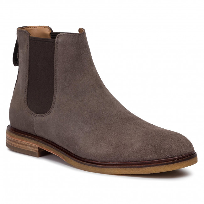 Chelsea CLARKS Clarkdale Gobi 261447047 Taupe Suede
