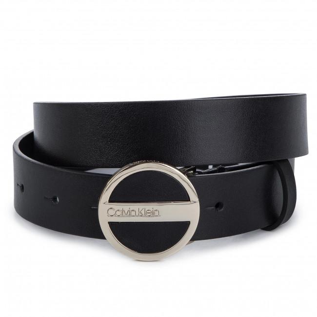 Cintura Belt Buckle Per Cinture Pelletteria Klein 3cm Accessori Da Donna Calvin Round K60k605402 001 eW2bEDH9IY