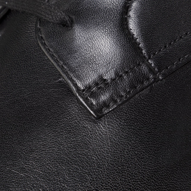 Scarpe basse CLARKS - Ronnie Walk 261438107 Black Leather 261438107 - Eleganti - Scarpe basse - Uomo