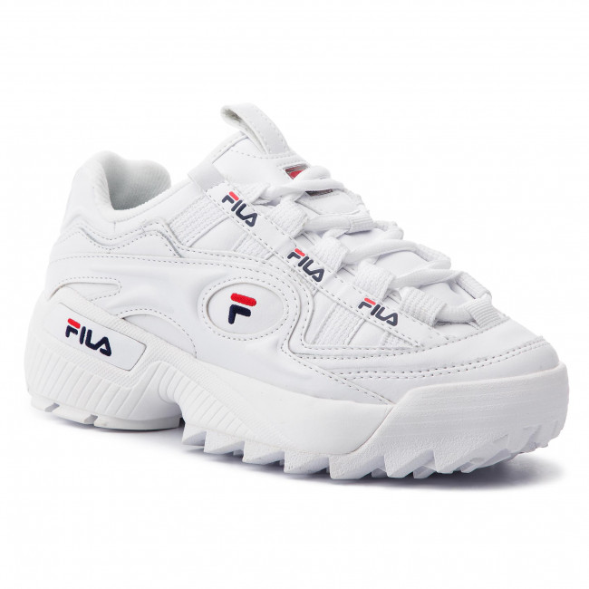 Sneakers FILA - D-Formation Wmn 5CM00514.125 White/Fila Navy/Fila Red