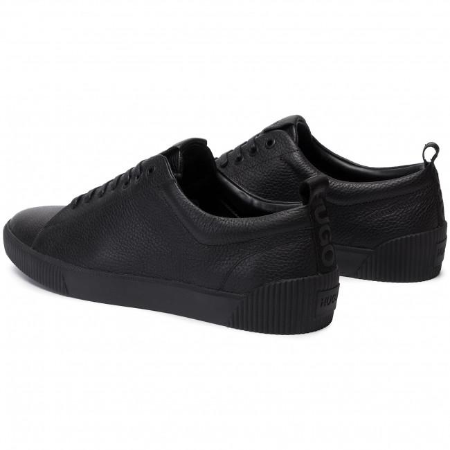 Black Hugo 50414642 Sneakers 01 10220030 Scarpe Uomo Basse Zero 001 Nn0wm8v