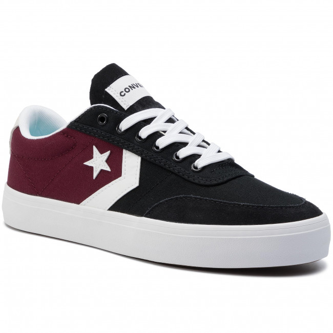Sneakers CONVERSE Courtlandt Ox 164060C Dark Burgundy