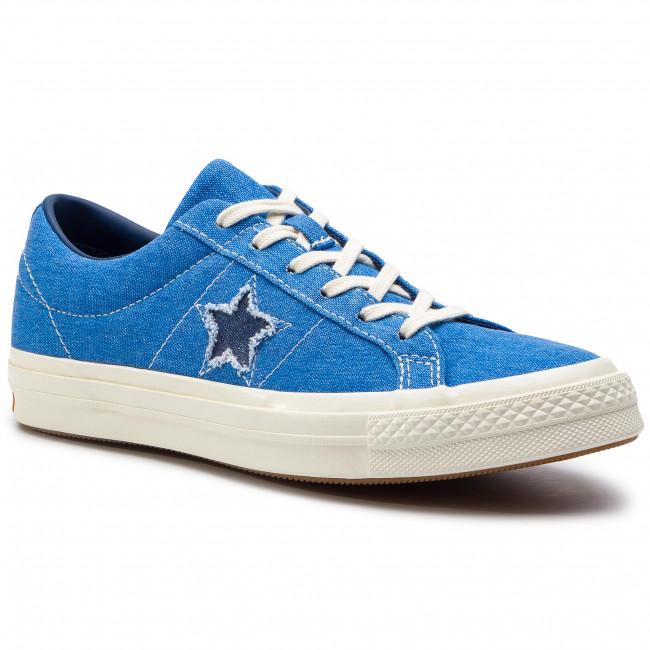 Scarpe sportive CONVERSE One Star Ox 164359C Totally Blue/Navy/Egret