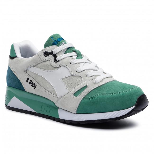 Sneakers DIADORA S8000 Italia 501.170533 01 C7079 WhiteWinter Green