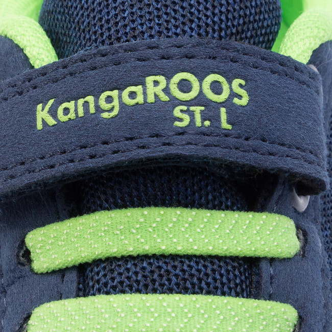 Scarpe 000 Strappi Navy Kangaroos Bambino Ev A gard Dk K lime Basse 18395 4054 USzMVpq