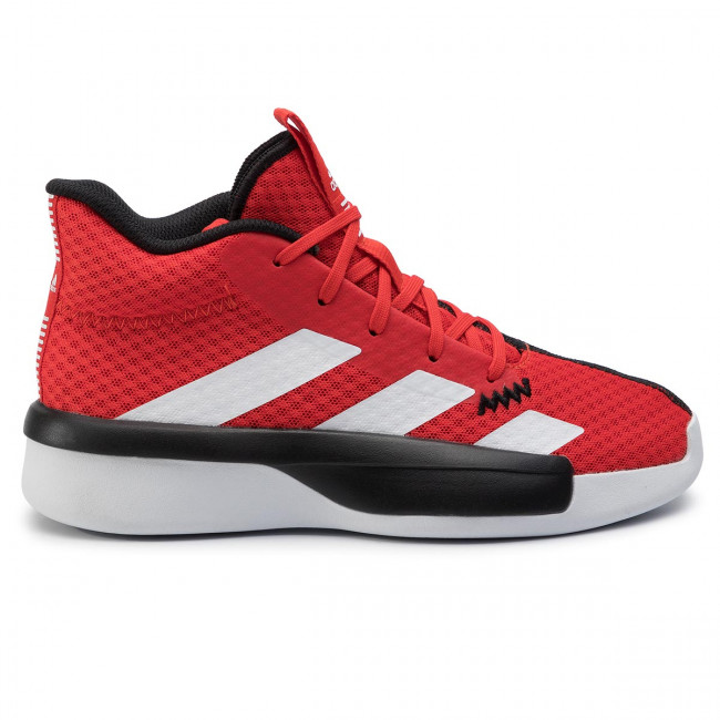 scarpe adidas pro next 2019 k actred ftwwht cblack