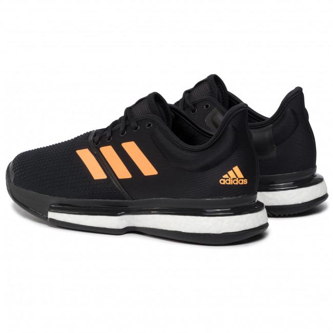 Boost Scarpe Uomo flaora Sportive Solecourt Adidas Tennis Ef2069 carbon M Cblack DbWEH9Ye2I