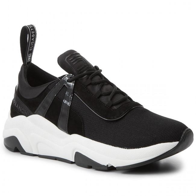 free shipping 5128b bce35 Sneakers ELISABETTA FRANCHI - SA-18B-96E2-V279 Nero 110
