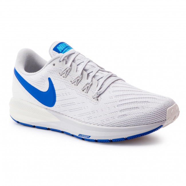 Scarpe NIKE Zoom Structure 22 AA1636 007 Vast GreyGame RoyalSail