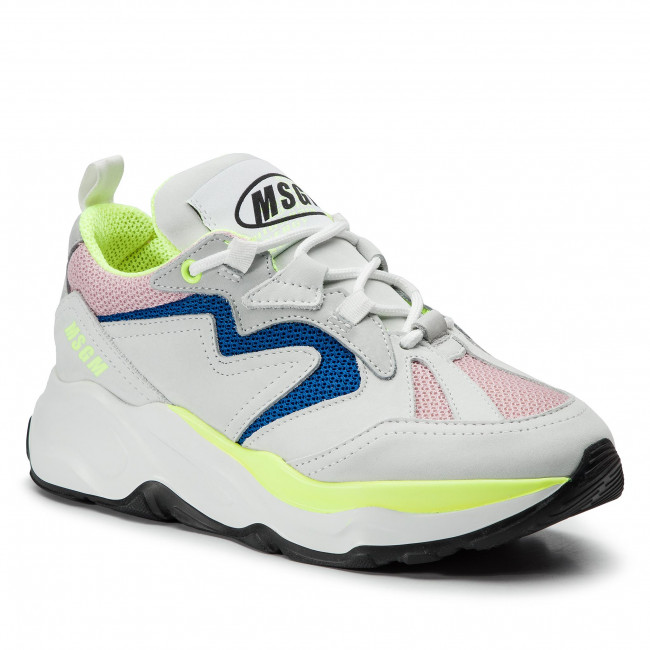 Sneakers MSGM - Attack Sneakers 2642MDS2086 700 12 Bianco Multicolore