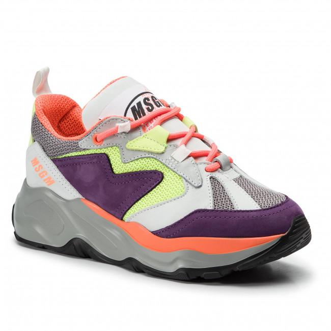 Sneakers MSGM - Attack Sneakers 2642MDS2086 700 74 Bianco Multicolore