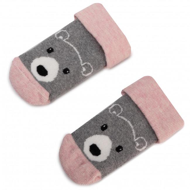 Set di 2 paia di calzini lunghi da bambini TOM TAILOR - 93115 Rose 327 - Lunghi - Bambini - Calzini - Accessori tessili - Accessori