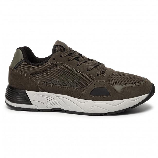 Xl697 Sneakers Emporio L066 Scarpe Ivy olive Armani Uomo X4x245 Basse Yby6gIf7vm